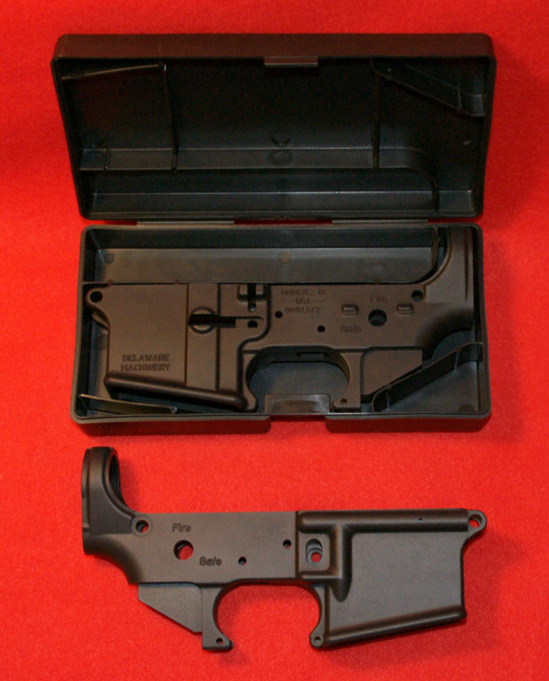 Quality stripped AR-15 lowers at great prices - Sponsor Display