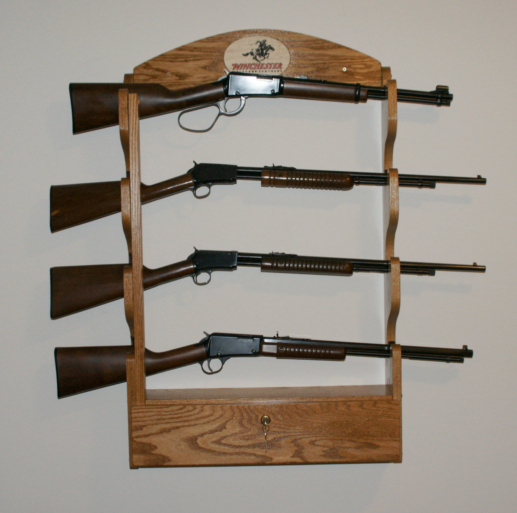 PDF DIY Wooden Gun Rack For The Wall Download wooden shelf bracket ...